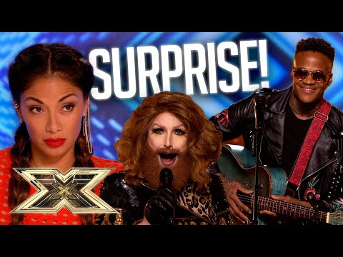 SURPRISED?! MOST UNEXPECTED AUDITIONS! | The X Factor UK
