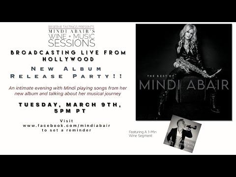 Mindi Abair's 39th Wine + Music Session LIVE