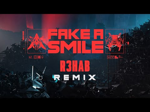Alan Walker & salem ilese - Fake A Smile (@R3HAB Remix Visualizer)