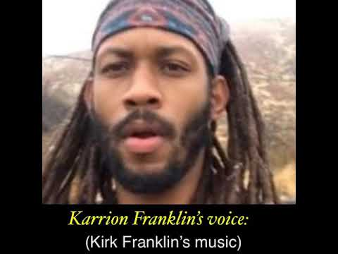 Karrion claims being raped by Kirk Franklin