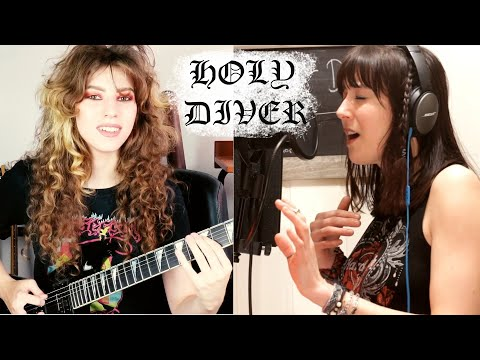 Holy Diver (acoustic cover by Sandra Szabo and Sonia Anubis)