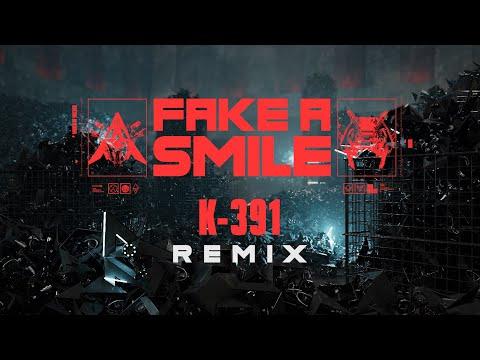 @Alan Walker & salem ilese - Fake A Smile (K391 Remix Visualizer)