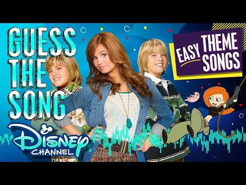 Guess the Song! Game | Episode 5 | Theme Songs EASY MODE! | Disney Channel