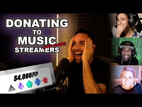 Donating $$$ to Music (and Game) Streamers!!