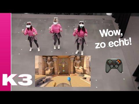 We gaan naar Egypte in Virtual Reality - K3 vlog #77