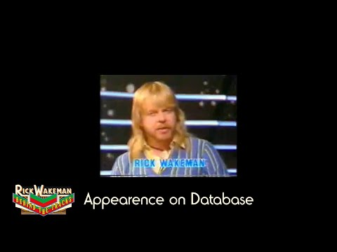 Rick Wakeman - Behind the Tracks: Appearence on Database (Part 2)