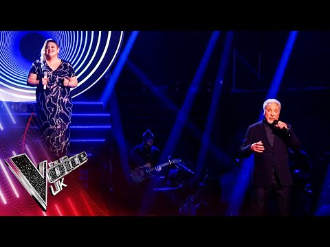 Tom Jones and Hannah Williams 'To Love Somebody' | The Final | The Voice UK 2021