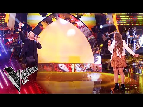 Olly Murs and Grace Holden 'Rule The World' | The Final | The Voice UK 2021