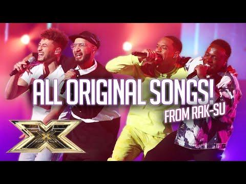 All of Rak-Su's ORIGINAL SONGS! | The X Factor UK