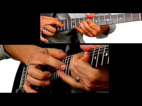 """ROCK TWO Brano di fine Corso in dettaglio e """"chitarra in solo"""" senza base"""