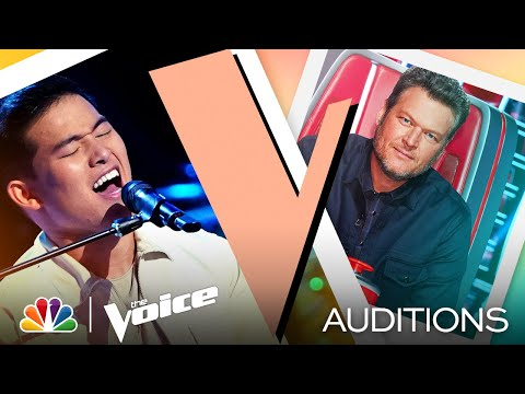 "Keegan Ferrell Shows His Sweet Tone on Maroon 5's ""She Will Be Loved"" - Voice Blind Auditions 2021"
