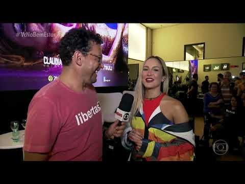 Fernando Rocha dança zumba com Claudia Leitte