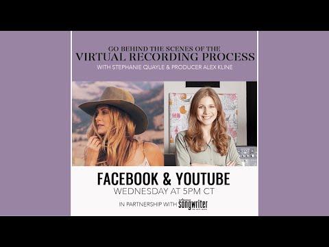 American Songwriter Presents: Stephanie Quayle Virtual Recording Convo with Producer Alex Kline