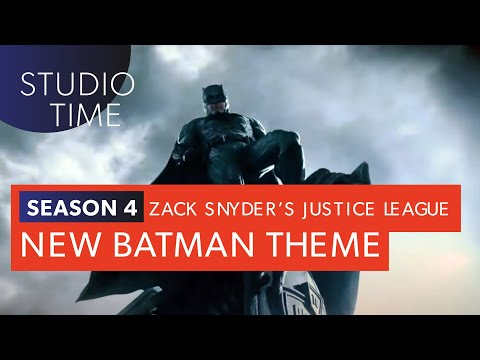 NEW BATMAN THEME | Zack Snyder's Justice League [Studio Time: S4E2]