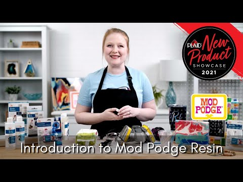 Mod Podge Resin - Plaid's 2021 New Product Showcase - Session 1