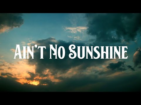 Paul Bogart • Ain't No Sunshine • Visualizer Video