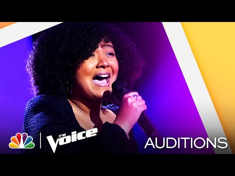 "Charlotte Boyer Sings Amy Winehouse's ""Love Is a Losing Game"" - The Voice Blind Auditions 2021"