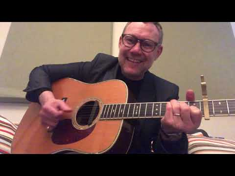 "David Gray – How to play ""Heart And Soul"" on Guitar"