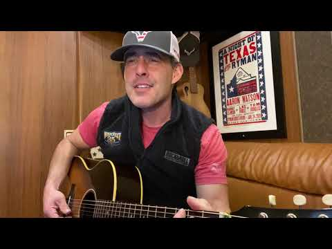 Aaron Watson - Best Friend - Story Behind The Song
