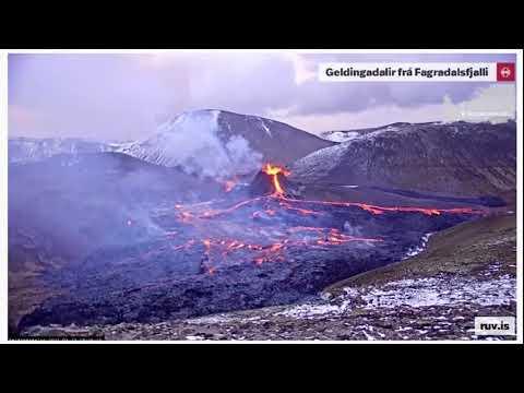 Forest Swords vs Geldingadalir volcano – live soundtrack