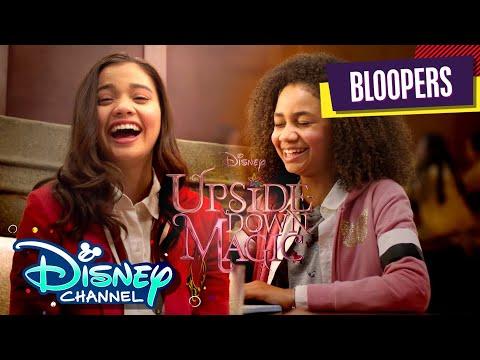 Blooper Reel | Upside-Down Magic | Disney Channel