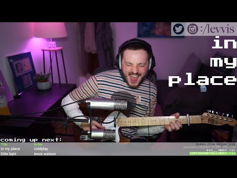 in my place - a looped coldplay cover x