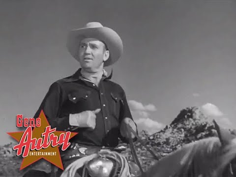 Gene Autry - Mellow Mountain Moon (The Gene Autry Show S1E12 - The Poisoned Waterhole 1950)