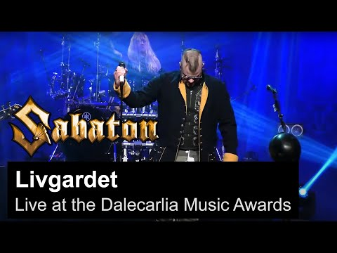 SABATON - Livgardet (Live at the Dalecarlia Music Awards)