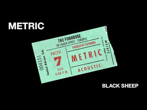 "METRIC - ""Black Sheep"" - Live at The Funhouse - Volume 1"