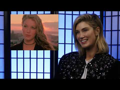 Delta Goodrem reacts to her music videos from Innocent Eyes