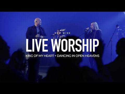 King of My Heart + Dancing In Open Heavens (Spontaneous) Live in Dallas, Global Prophetic Conference