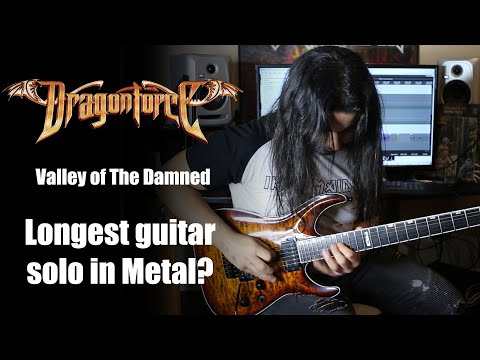 VALLEY OF THE DAMNED (DRAGONFORCE) FULL GUITAR SOLO