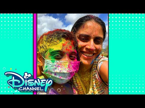 Holi the Festival of Colors | In The Nook | Disney Channel