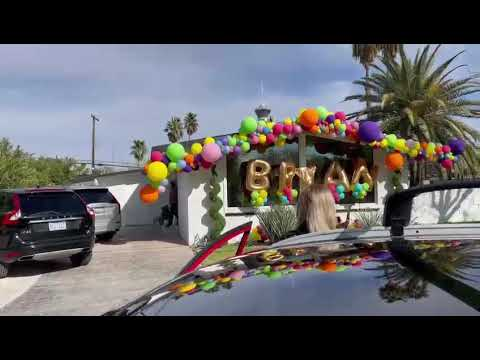 Debbie Gibson Surprises Fan with Drive By Greeting