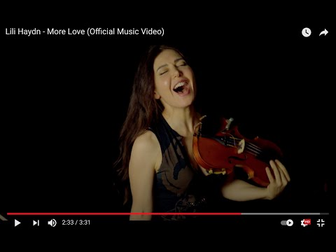 Lili Haydn - More Love (Official Music Video)