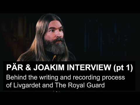 Sabaton's Pär & Joakim talk about the recording process of Livgardet + The Royal Guard (pt. 1)