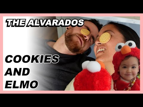 Cookies and Elmo - The Alvarados