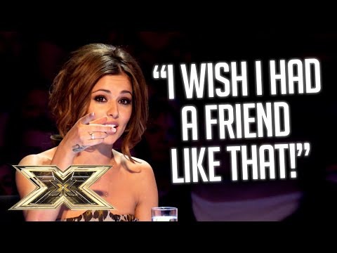 Glaswegian duo show what TRUE friendship looks like in SWEETEST audition ever! | The X Factor UK