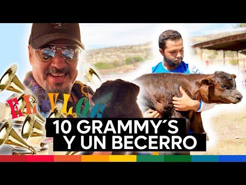 Pepe Aguilar - El Vlog 268 - 10 Grammys y un becerro