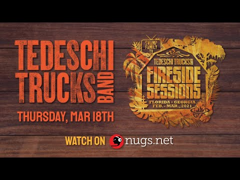 Swamp Family TV: Tedeschi Trucks Band 3/25/21 'The Fireside Sessions' Preview