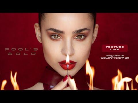 Sofia Carson - Fool's Gold - YouTube Premiere Live
