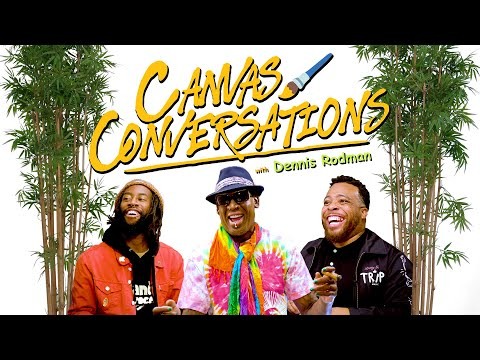 Dennis Rodman Talks Glory Days In The NBA While Being Drawn | Canvas Conversations