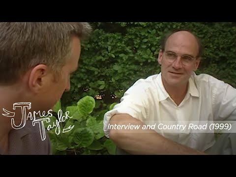 James Taylor - Interview & Country Road (The Cambridge Folk Festival, 8/1/99)