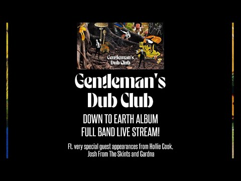 DOWN TO EARTH FULL BAND LIVE STREAM MARCH 26th 2021!
