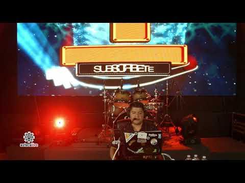 DJ colin Mezclando en vivo - Azteca Live