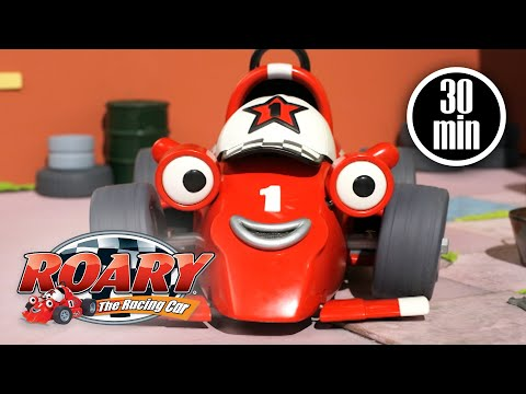 Roary's on the Case | Roary the Racing Car | Compilation | Cartoons For Kids