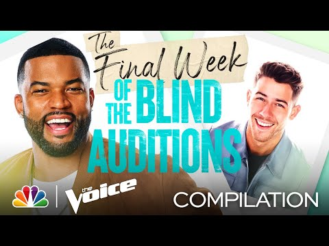 The Best Performances from the Final Week of the Blind Auditions - The Voice 2021