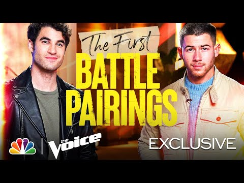 Teams Kelly, Nick, Legend and Blake Reveal Their First Battle Pairings - The Voice Battles 2021