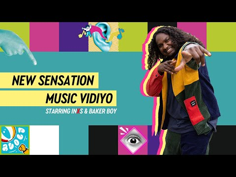 INXS – New Sensation (MUSIC VIDIYO) starring Baker Boy
