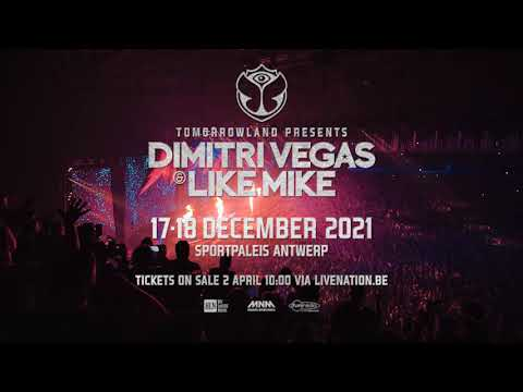 Tomorrowland Presents Dimitri Vegas & Like Mike - Sportpaleis Antwerp 2021 (Official Trailer)